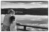 Mor och dotter, Ålsjön, Regna