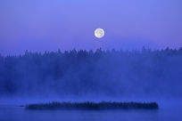 Fullmåne över Ålsjön, Regna