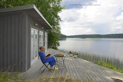 Kvinna vid Ålsjön